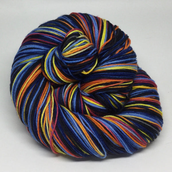 Bonfire Four Stripe Self Striping Yarn