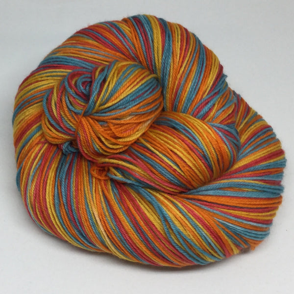 Hungry Ghost Festival Four Stripe Self Striping Yarn