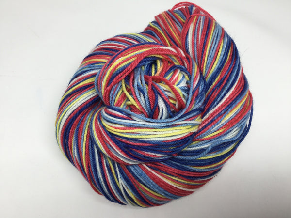 African Queen Five Stripe Self Striping Yarn