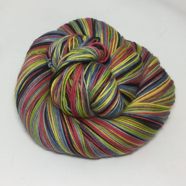 Night Fishing at Antibes Seven Stripe Self Striping Yarn