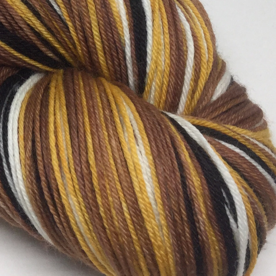 Great Horned Owl Five Stripe Self Striping Yarn