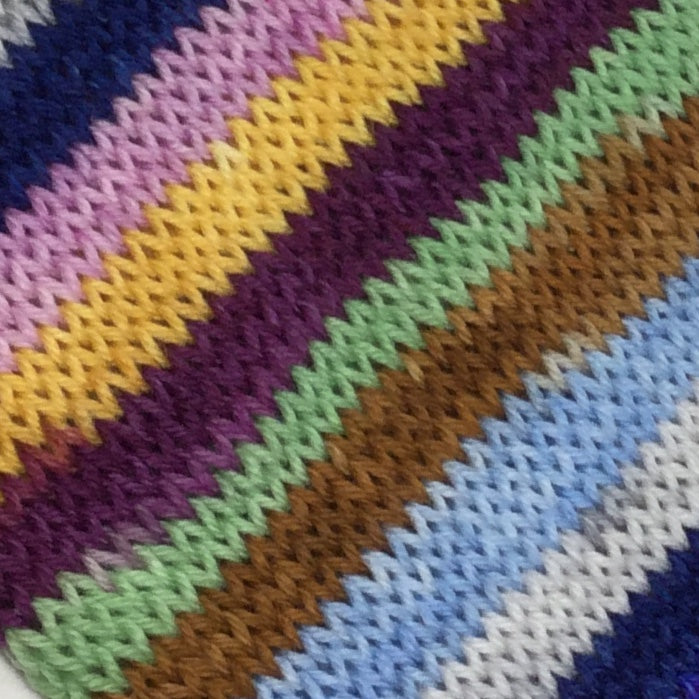 Doors Eight Stripe Self Striping Yarn