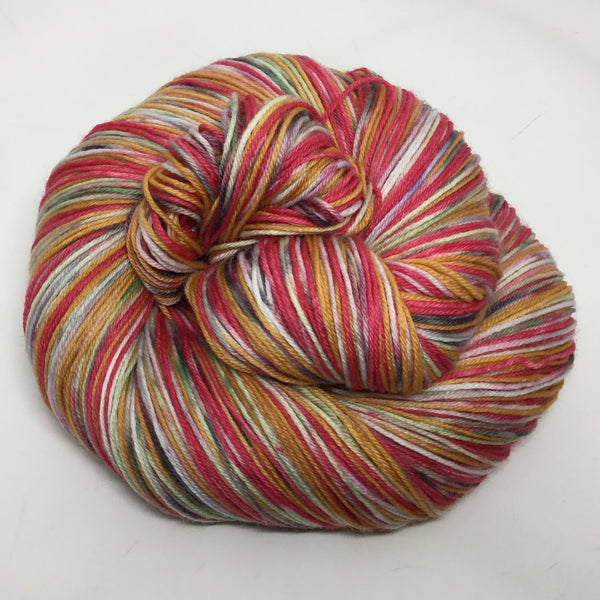 Winnie the ZomBody Pooh Four Stripe Self Striping Yarn