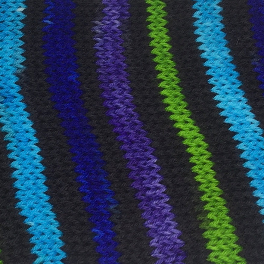 Skyscrapers Eight Stripe Self Striping Yarn