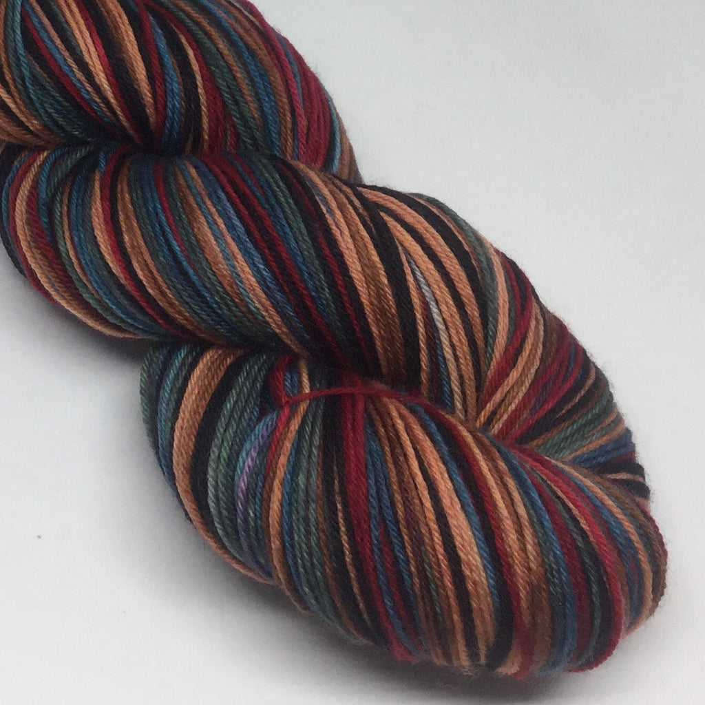 Hometown Lights Six Stripe Self Striping Sock Yarn