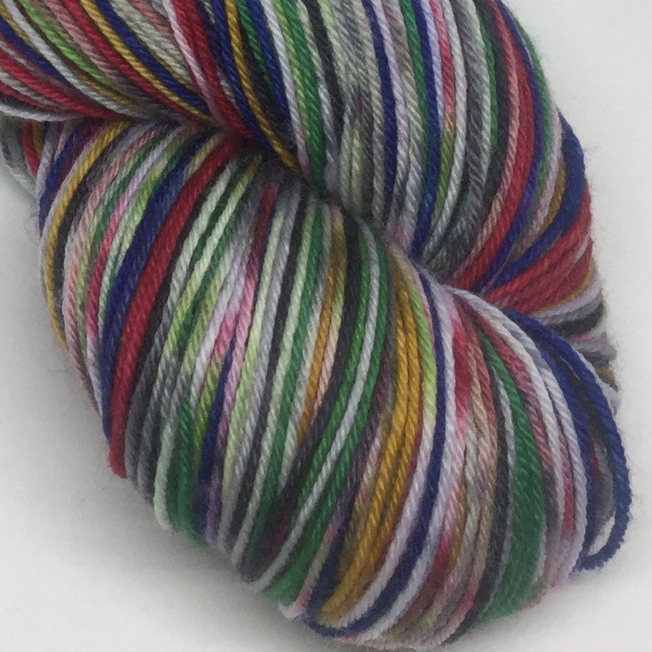 Captain Zombody Marvel Eight Stripe Self Striping Yarn