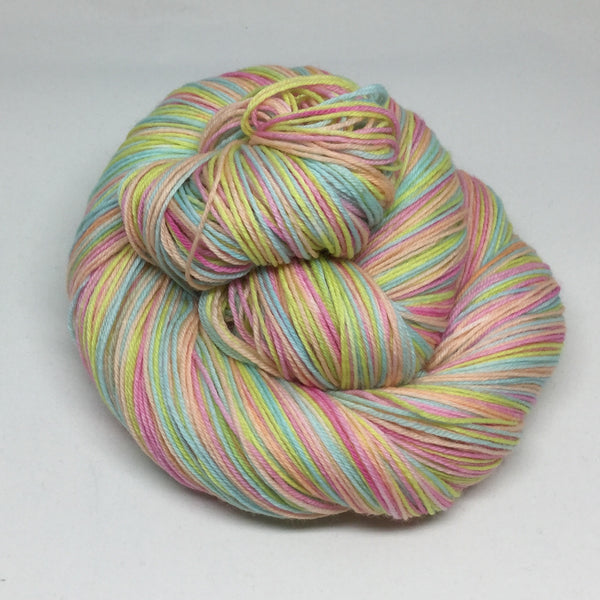 La Fiesta de Color Four Stripe Self Striping Sock Yarn