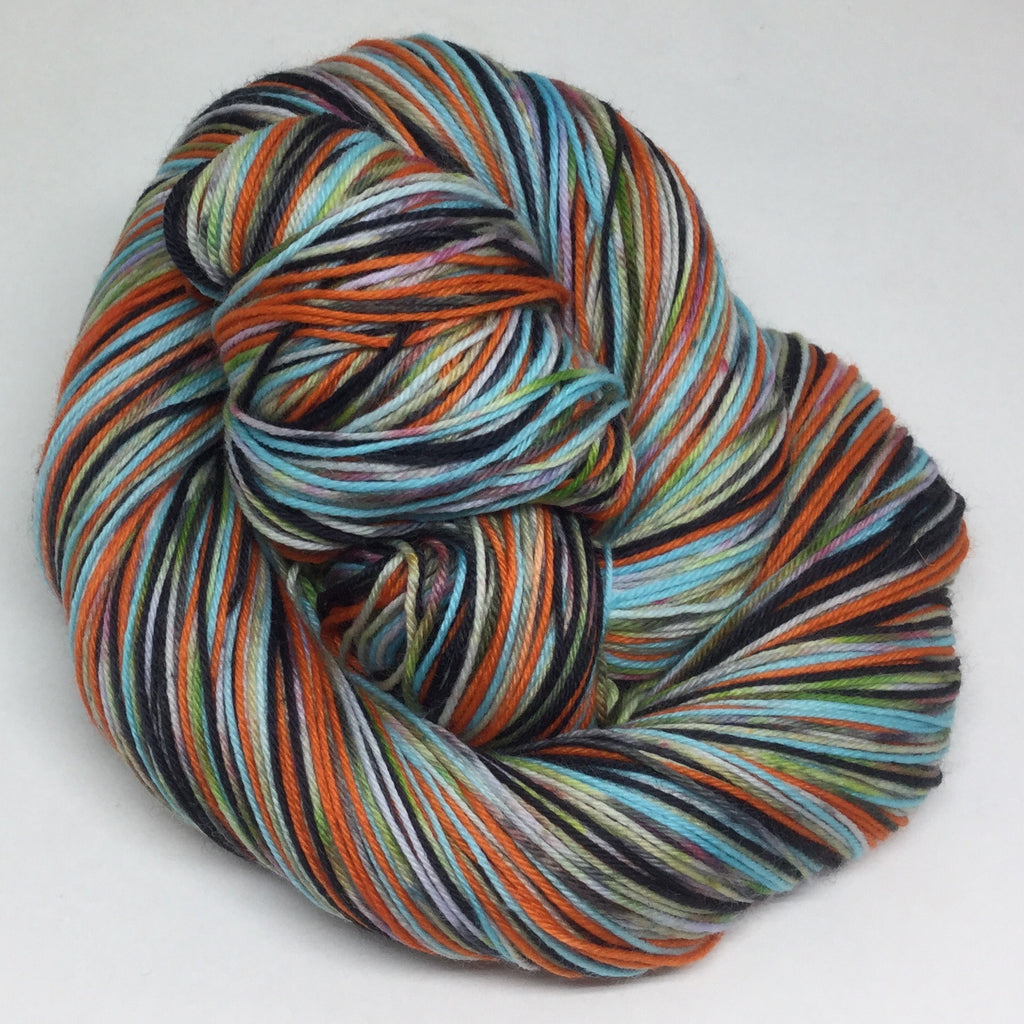 ZomBody Aquaria Six Stripe Self Striping Yarn