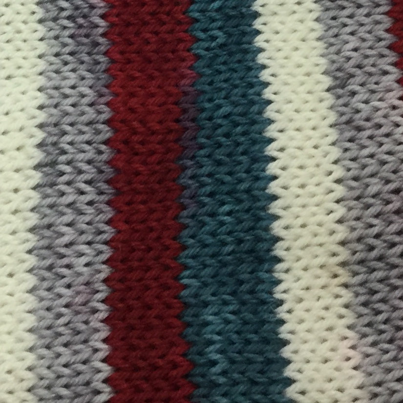 Norwegian Sea Four Stripe Self Striping Yarn
