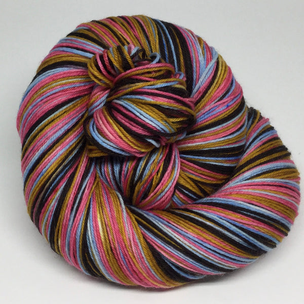 Rooster Four Stripe Self Striping Sock Yarn