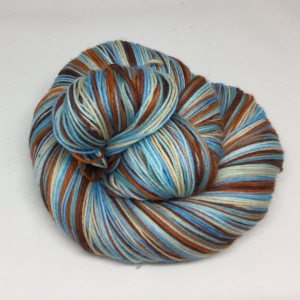 Sea Turtle Six Stripe Self Striping Yarn