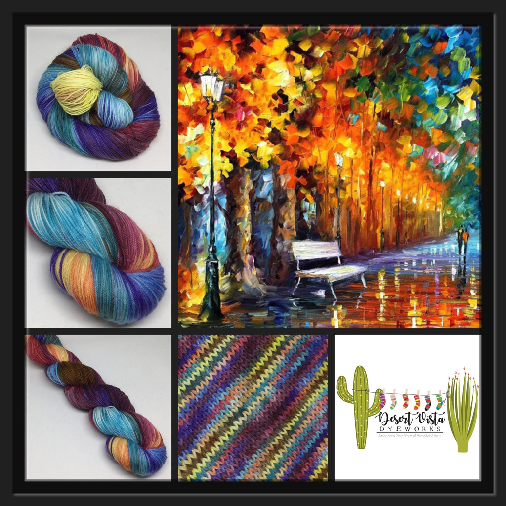 Afremov's His Way Home Variegated Yarn