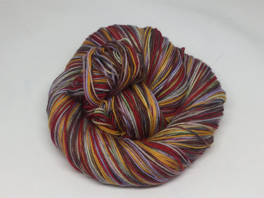 A ZomBody like Gaston Six Stripe Self Striping Yarn