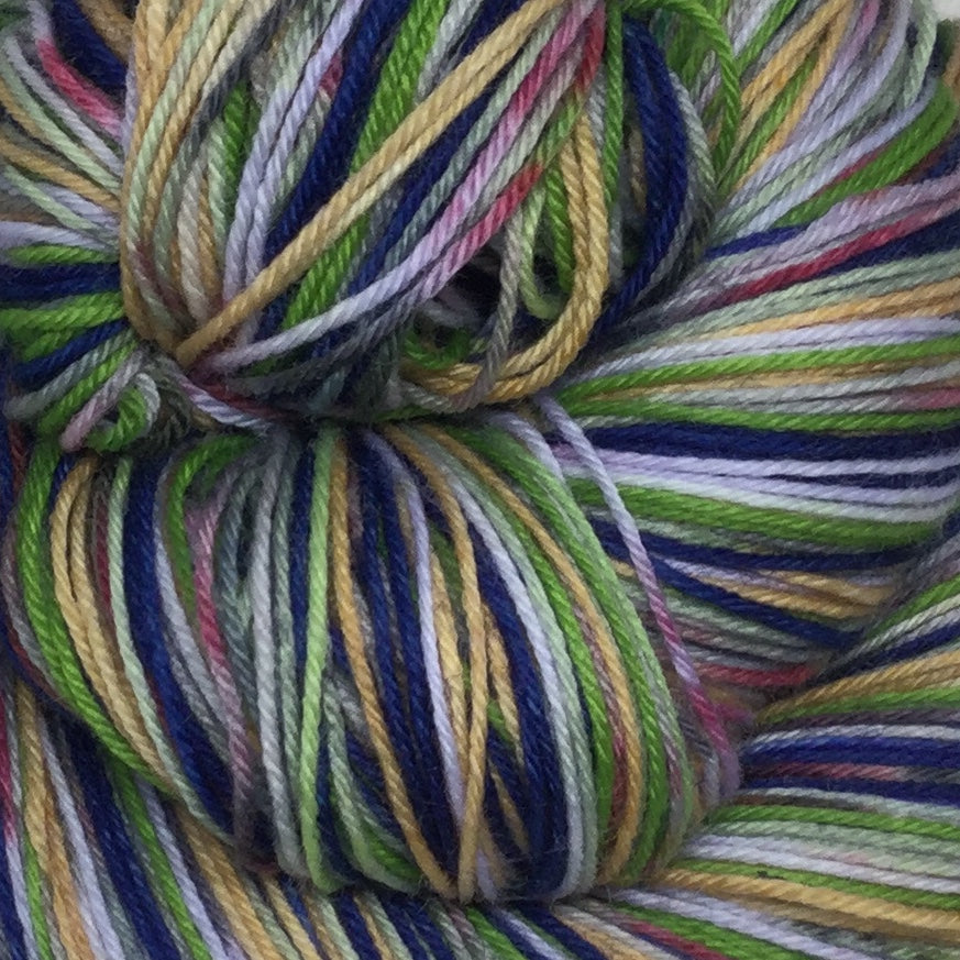 Charlie ZomBody Bucket Six Stripe Self Striping Yarn