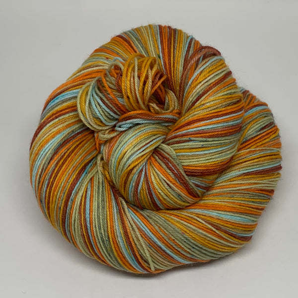 Camelot Seven Stripe Self Striping Sock Yarn