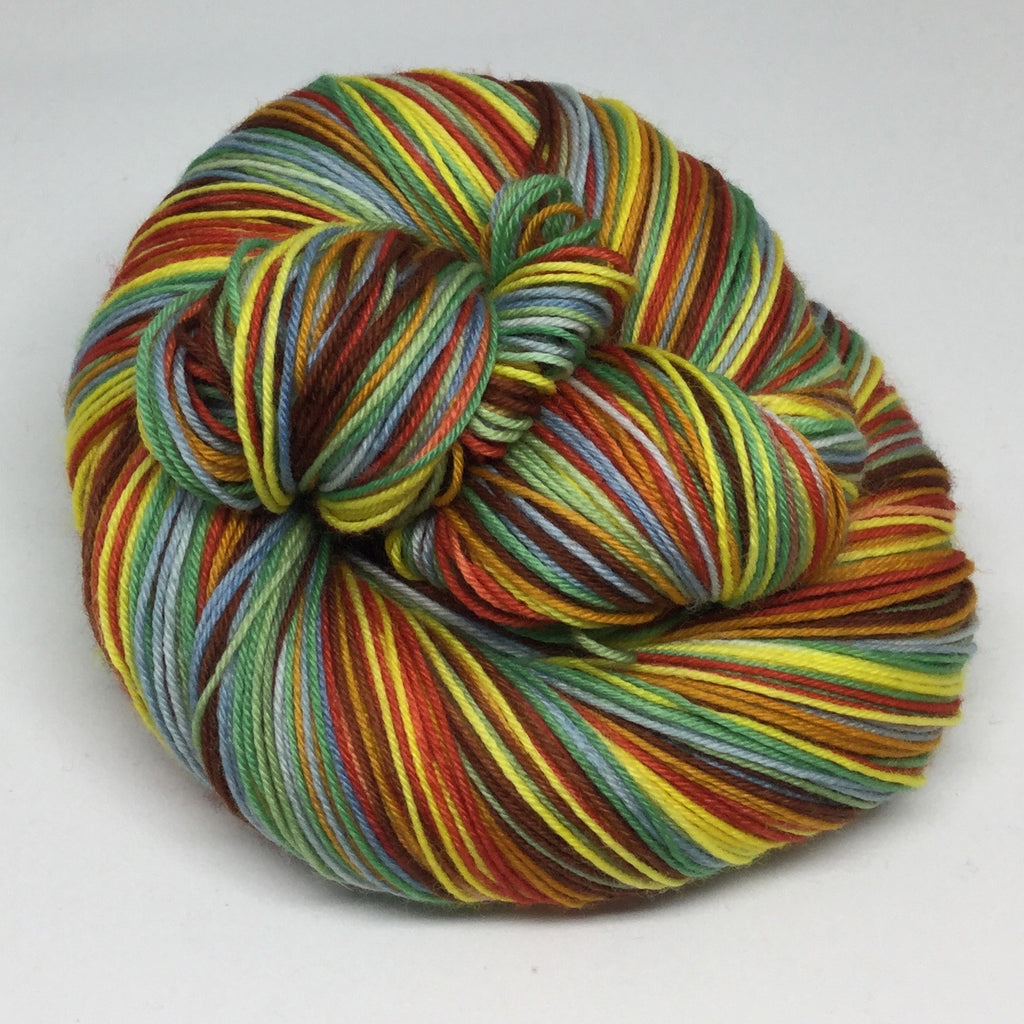 Tamberma Village Seven Stripe Self Striping Sock Yarn