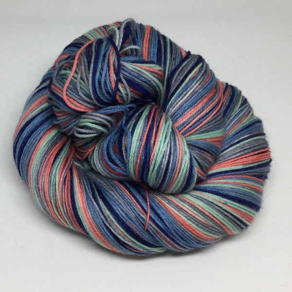 Coastal Brazil Six Stripe Self Striping Sock Yarn