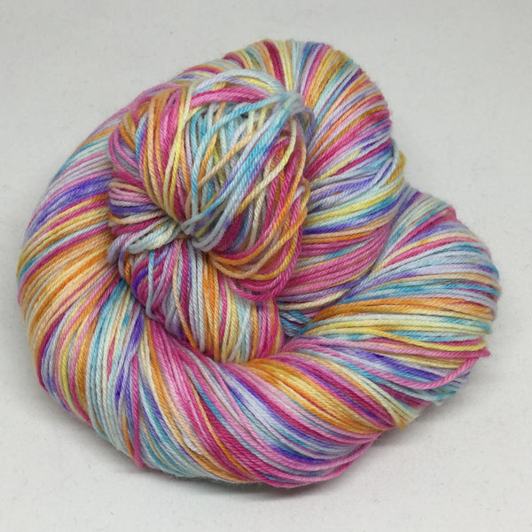 Speckled Jelly Beans Five Stripe Self Striping Yarn