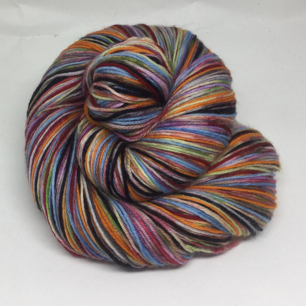 Ghost ZomBody Clown Eight Stripe Self Striping Yarn