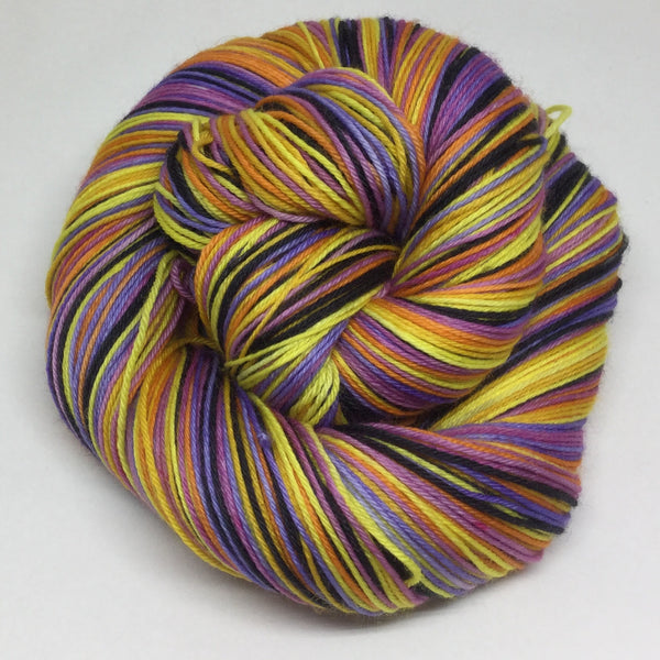 Bohemian Rhapsody Six Stripe Self Striping Sock Yarn