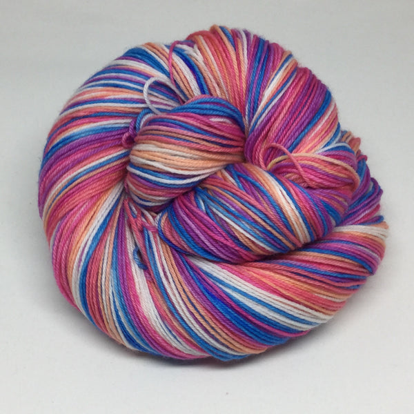 Walvis Bay Six Stripe Self Striping Sock Yarn