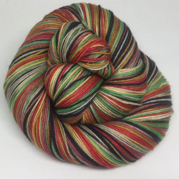 Slice of Pizza Seven Stripe Self Striping Yarn