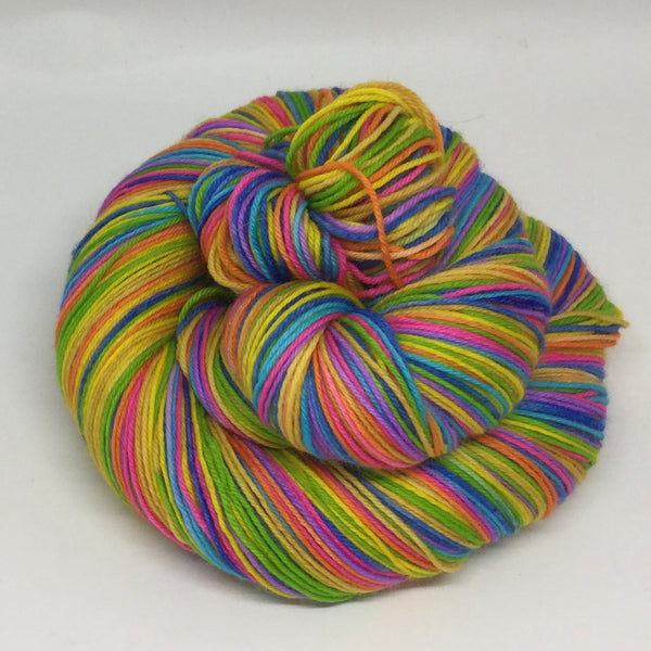 Late for Something Eight Stripe Self Striping Yarn