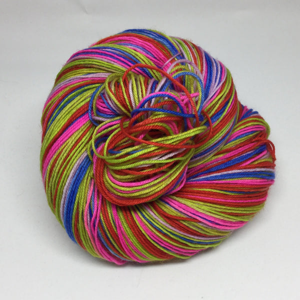 Bo-Kaap Six Stripe Self Striping Sock Yarn