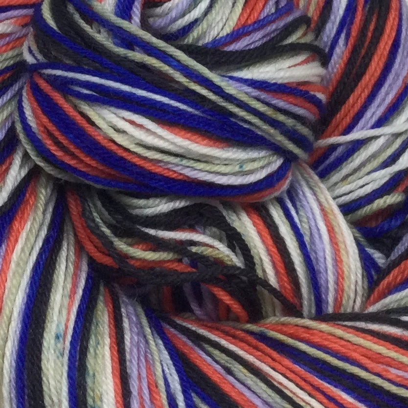 Coney Island Six Stripe Self Striping Sock Yarn