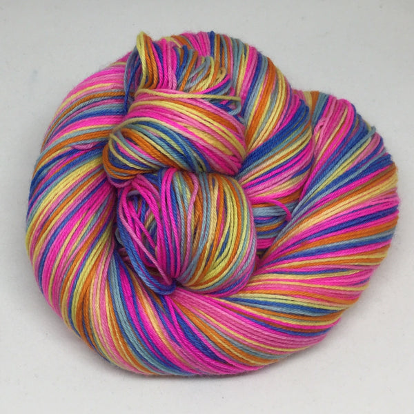 Caribbean Colors Six Stripe Self Striping Yarn