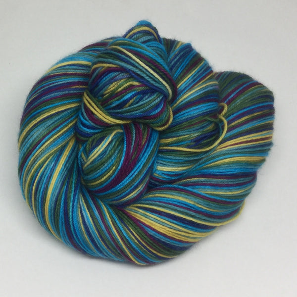 Story Bridge Six Stripe Self Striping Sock Yarn