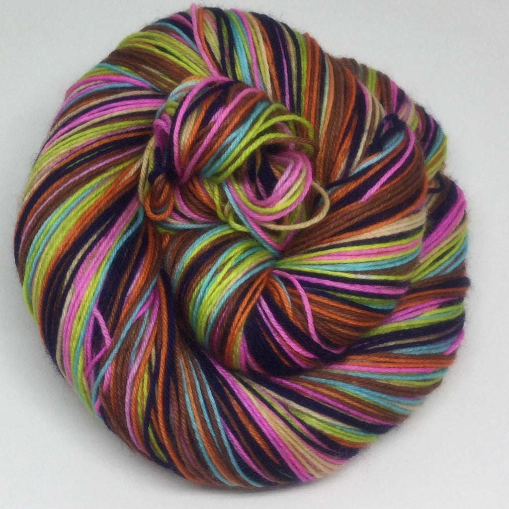 Badlands Seven Stripe Self Striping Sock Yarn