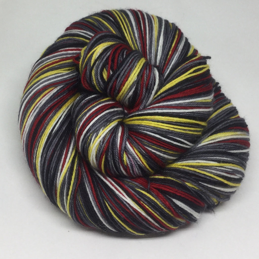 My Favorite Murder Podcast Inspired Eight Stripe Self Striping Yarn