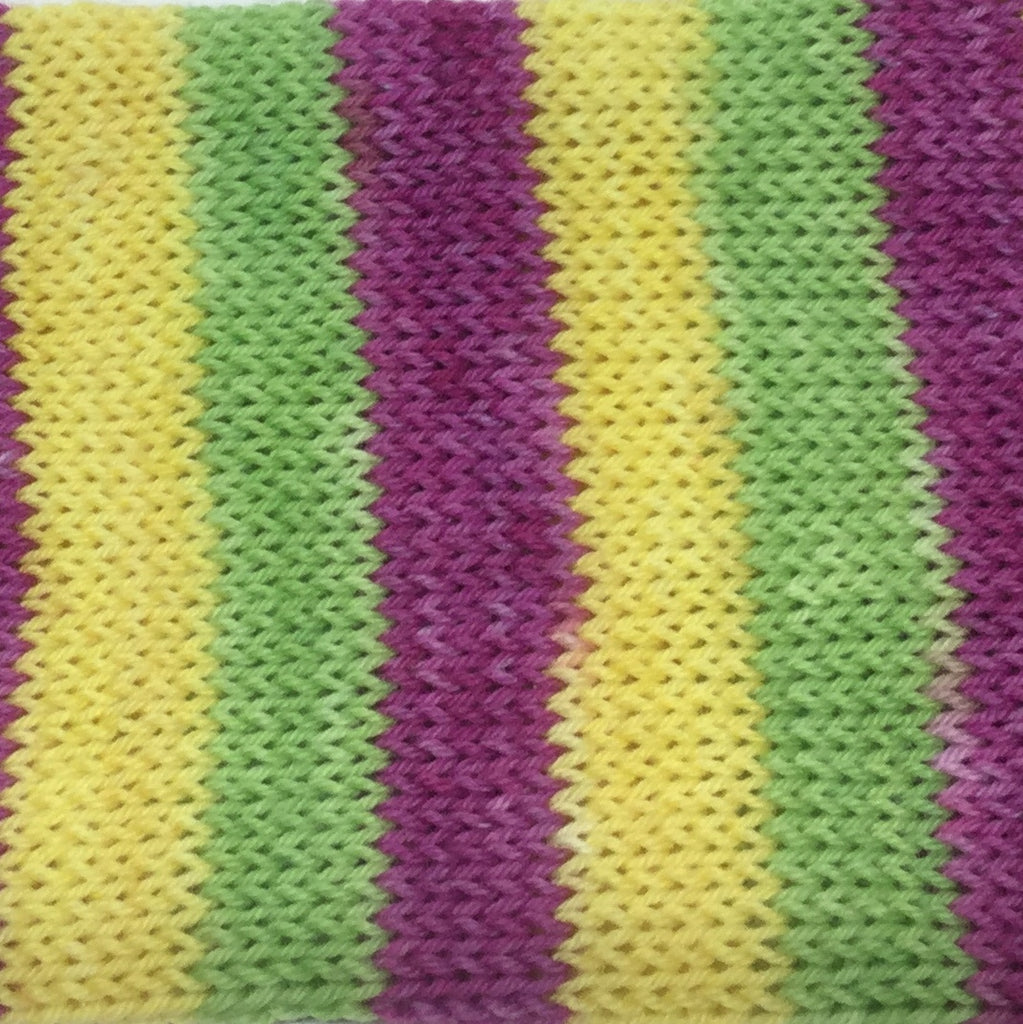 Fruit Popsicles Three Stripe Self Striping Yarn