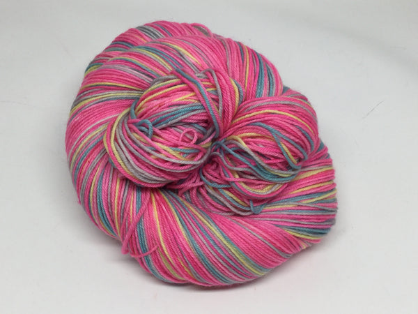 Roman Holiday Four Stripe Self Striping Yarn