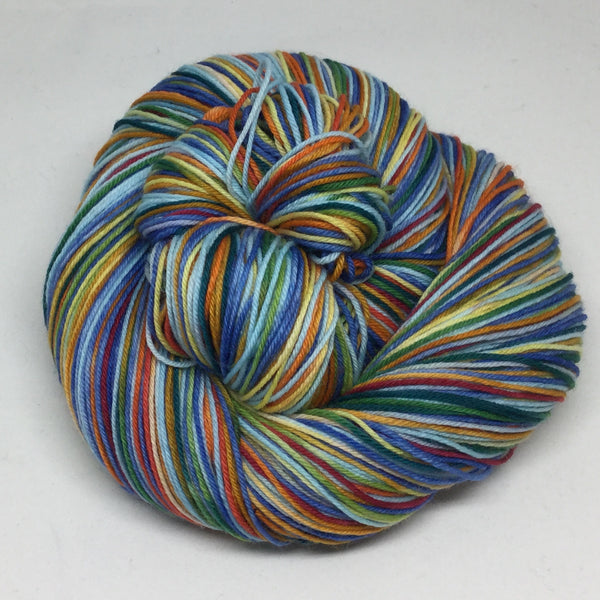 Saguenay Fjord Four Stripe Self Striping Yarn
