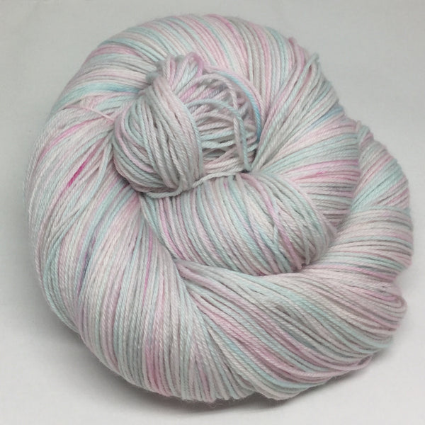 Pink Roses Four Stripe Self Striping Yarn