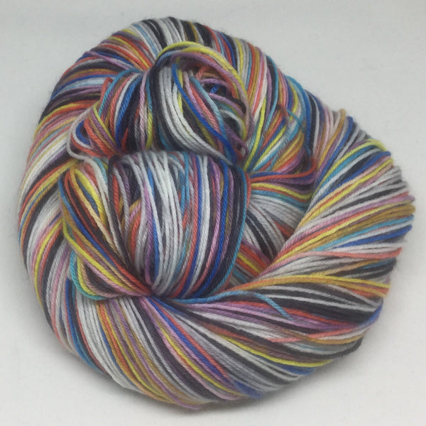 La Fee Electricite Six Stripe Self Striping Yarn