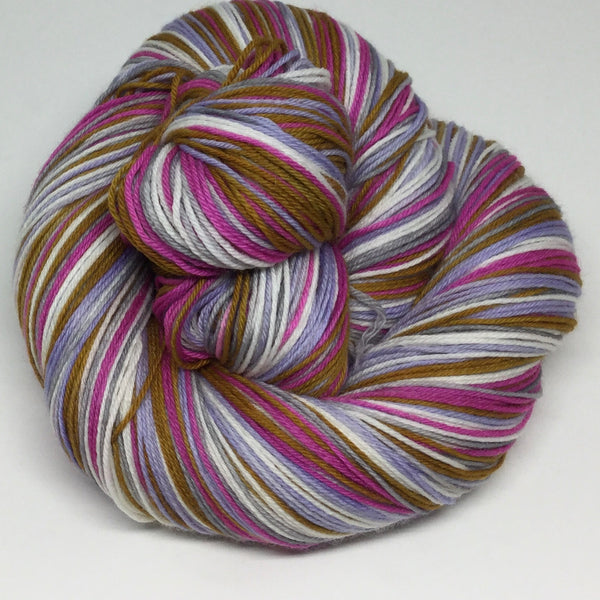 "International Women""s Day Five Stripe Self Striping Sock Yarn"