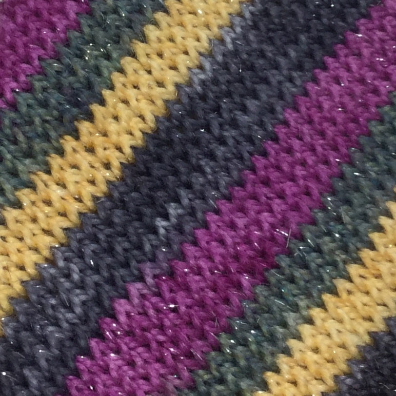 Modern Holiday Four Stripe Self Striping Yarn