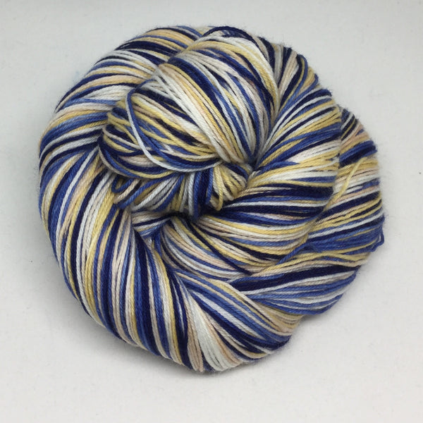 Hokusai's Great Wave Five Stripe Self Striping Yarn