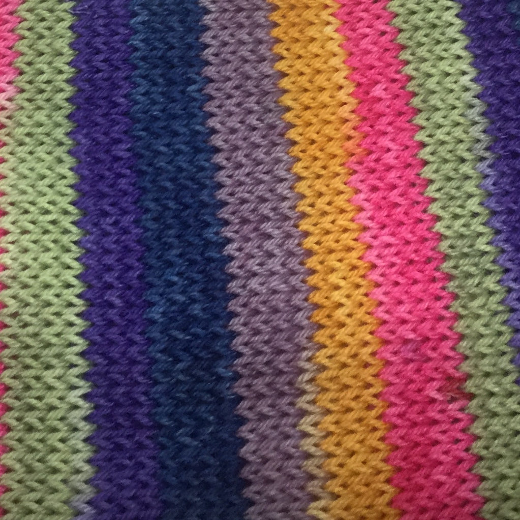 Barrio de Carmen Six Stripe Self Striping Yarn