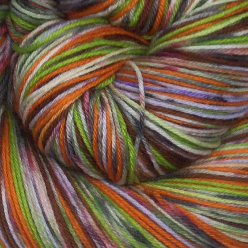 Oompa ZomBody Loompa Six Stripe Self Striping Yarn