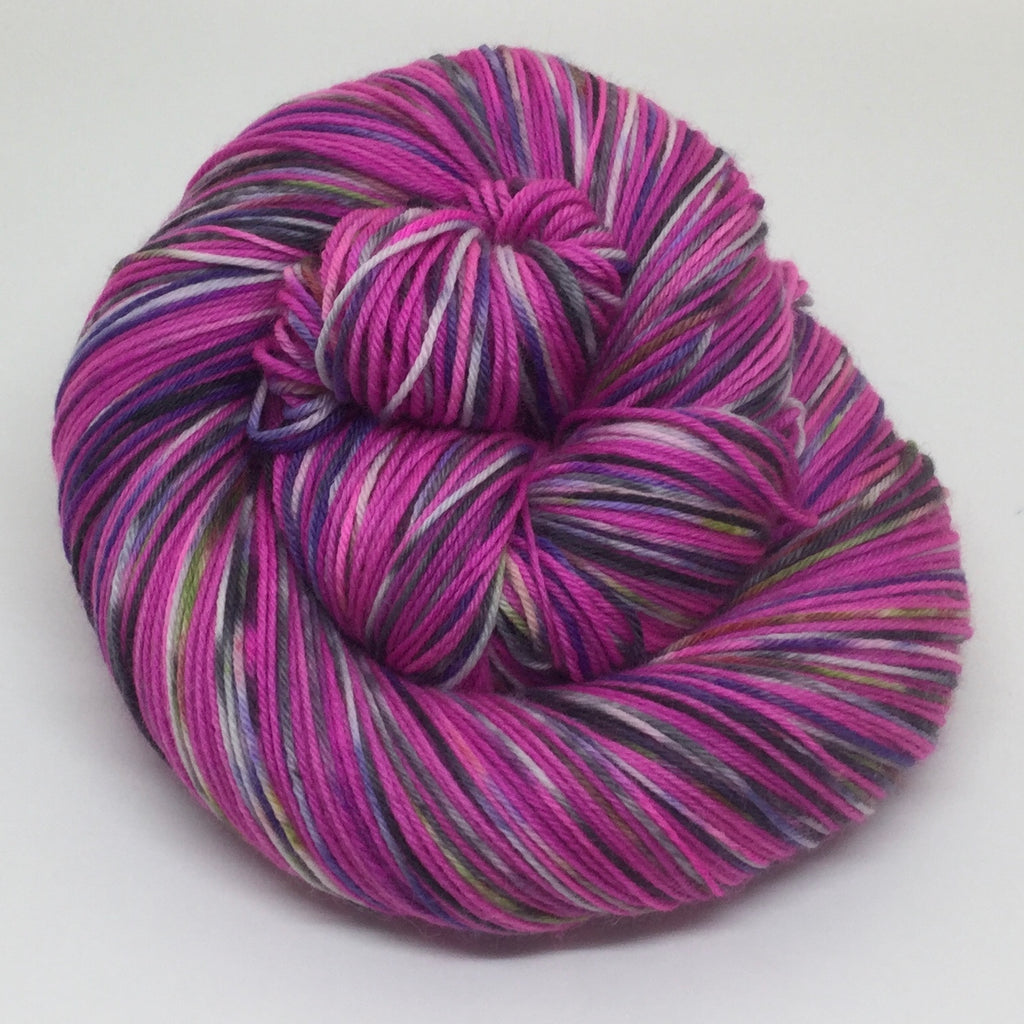 The Princess of Pittsburgh Four Stripe Self Striping Yarn