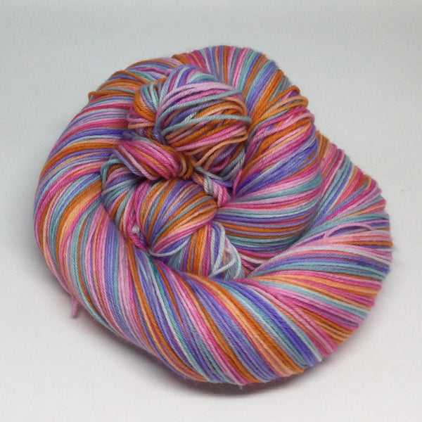 Tea Party Eight Stripe Self Striping Sock Yarn