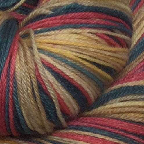 St. Peters Five Stripe Self Striping Yarn