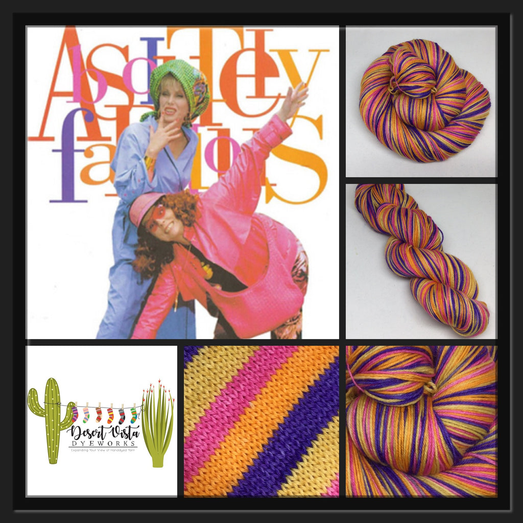 Absolutely Fabulous Four Stripe Self Striping Yarn
