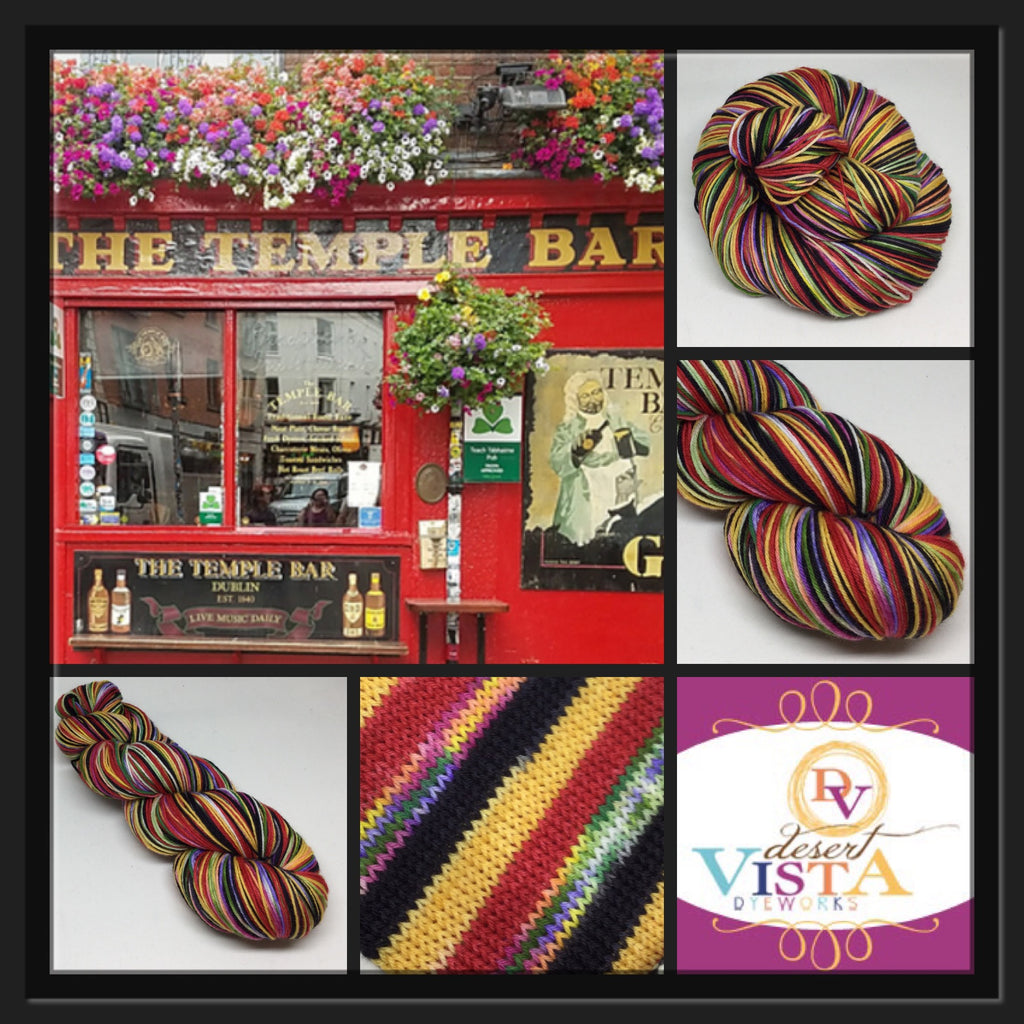 Temple Bar Four Stripe Self Striping Yarn