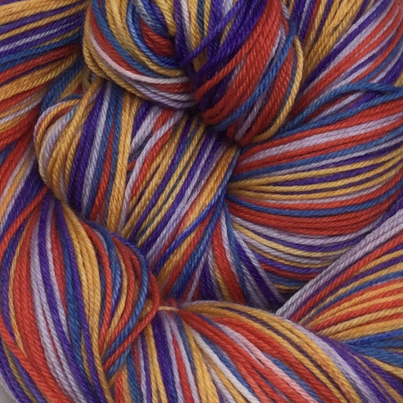 Labyrinth Four Stripe Self Striping Sock Yarn