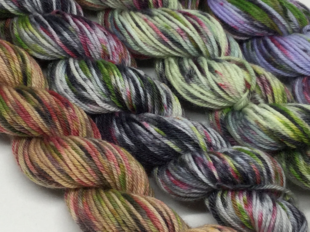 ZomBody Decomp Mini Skeins 100 Yards Each